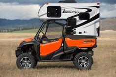 Mini Camper Truck Camper, Kombi Motorhome, Mini Camper, Camper Trailers, Cabover Camper, Tiny Trailers, Camping Survival, Rv Camping, Camping Hacks