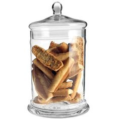 Kakburk i glas, 30 cm, transparent Grandma Cookies, Cookie Box, Serving Utensils, Decoration, Baking, Food, Kitchen Ideas, Wedding Inspiration, Candy