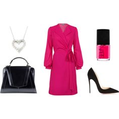 Our stunning pink Helford dress, perfect for adding a burst of colour into a very black and white office. Attention grabbing for the right reasons.  #LibbyLondon #WorkWear #Work #workattire #workwear #libby #ellewoods #legallyblonde #leather #dress #pink #heels #dress #datenight #heart #black #nailpolish #stunning #stylish #Howtostyle #style #stylish #fashion #fashionset