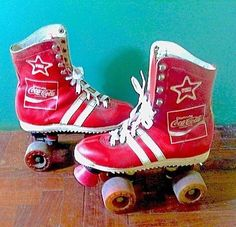 Vintage coke skates