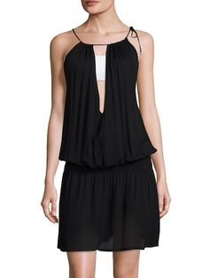 Tasha Halter Cover-Up Dress
