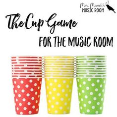 """This game is a GREAT activity for your through graders! This freebie includes the cup game chant, activity directions, and """"I've been to Haarlem"""" song. You can also view videos of my stude Music Lessons For Kids, Music Lesson Plans, Music For Kids, Music Activities For Kids, Elementary Music Lessons, Piano Lessons, Cup Song, Cup Games, Middle School Music"""
