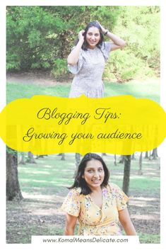 Blogging tips, blog inspiration tips, growing audience, new blogger