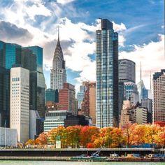 Manhattan Autumn by @nyclovesnyc #nyc #newyorkcity