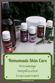 My Personal and Homemade Skin Care - Mom, Be Well