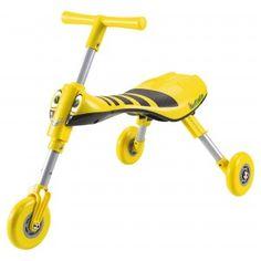 #Scuttlebug Bumble Bee - Yellow/Black Toddler Trike | #Scuttlebug Toddler Trike. only £24.99