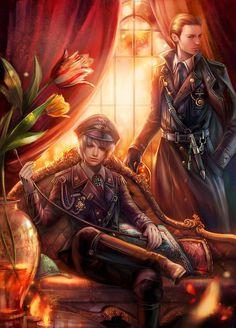 German Nazi Brothers (Fantasy Illustrations by Yang Fan)