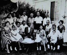 Our late, great founder, the Bishop Charles Harrison Mason with his beautiful #family. #COGIC
