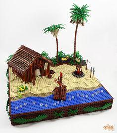 Island shack