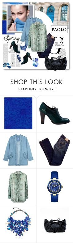 """""""Spring and spring - Paoloshoes.com"""" by paoloshoes ❤ liked on Polyvore featuring Nicole Miller, Paolo Shoes, Steve J & Yoni P, True Religion, Pierre Balmain, Versus, Anabela Chan and Mapleton Drive"""