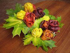 růže z listů - Hledat Googlem
