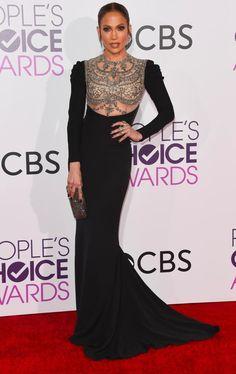 #JenniferLopez in #ReemAcra - People's Choice Awards 2017