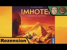 Imhotep – Brettspiel – Review #145 | Hunter & Cron