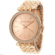 cb89ef28eebb Michael Kors Original MK3192 Women s Rose Gold Stainless Steel Watch  Stainless Steel Jewelry