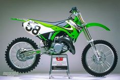 For the KX engineers added more inertia to the drivetrain to help the churn out a broader powerband. Unfortunately, it didn't work as well as they hoped Motocross Action, Enduro Motocross, Nitro Circus, Triumph Motorcycles, Ducati, Mopar, Monster Energy Supercross, Cool Dirt Bikes, Kawasaki Bikes