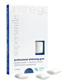 On the Go Whitening Gum by Supersmile at Neiman Marcus.