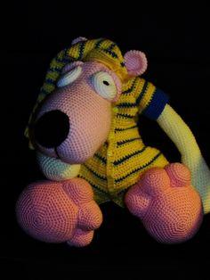 crochet dog :)