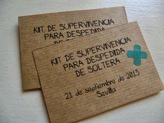 HECHO CON ENCANTO: KIT DE SUPERVIVENCIA para despedidas con detalles