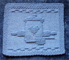 Cookie Jar Dishcloth | AllFreeKnitting.com