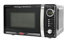 overview for Nostalgia RMO770BLK Retro Series 0.7 Cubic Foot 700-Watt Microwave Oven of goods not only practical and economical it39s stylish too Available with a variety of today39s most popular features this handy microwave is well suited for the dorm room office cottage or kitchen  You...