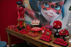Miraculous Ladybug é a nova febre entre as crianças e trouxe uma festa linda para as mamães se inspirarem. Apesar de ser a nova sensação entre a criançada (principalmente entre as meninas), Miracul…