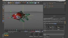 In this tutorial we'll rig and animate a fish in Cinema 4D so that later we can add ink/smoke trails to it using Turbulence FD. Watch Part 2 of the tutorial where we work on the fluid simulation in Turbulence FD: https://vimeo.com/121003297  See a preview of the finished product here: https://vimeo.com/119639913.  Credit to Ogaooooo for the original fish rig: https://vimeo.com/72549982  Inspiration Links from the Tutorial: CCTV Ink: https://vimeo.com/6794856 Qatar Montage: ...