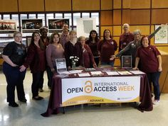 At the MSU Libraries we promote Maroon Friday and Open Access. #MaroonFriday #hailstate #openaccessweek2017
