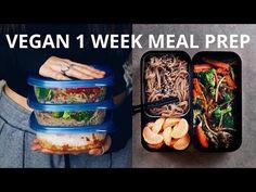 Easy Summer Vegan Meal Prep - Fresh & Healthy Recipes  - YouTube