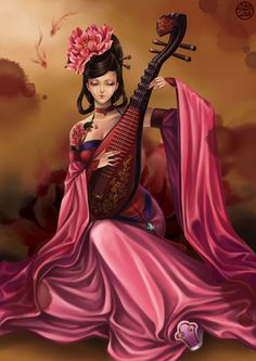It¡¯s The mystery of the Ancient CHINA£¨some pictures£© - Art Chinese Style, Chinese Art, L5r, Art Japonais, Japan Art, Chinese Culture, Female Art, Asian Woman, Art Girl