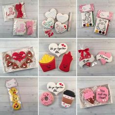 How to Make Easy Sugar Cookies for Valentines Day Kids Will Love Valentine's Day Sugar Cookies, Fancy Cookies, Iced Cookies, Cute Cookies, Cupcake Cookies, Cupcakes, Valentines Day Cookies, Holiday Cookies, Biscuit Decoration