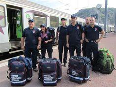 Nouvelle mission à Ambanja (Madagascar) pour les pompiers humanitaires de Cherbourg.