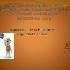 Integrantes: Daniel Chávez CI: 230990 Cristian Gámez 17.320.003   Es de vital importancia ya que engloba el conocimiento y la identificación de riesgo. http://slidehot.com/resources/diapositibva-importancia-de-la-inspeccion-de-la-higiene-y.21615/