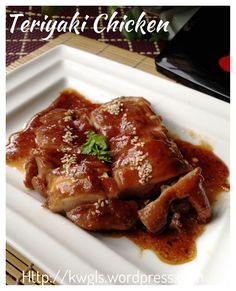 Teriyaki Chicken #guaishushu #kenneth_goh #Teriyaki_chicken #日式照烧鸡肉 #照り焼きチキン