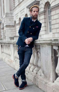 Finchley Row: wear suits xxx.