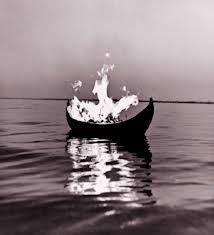 Viking burial.