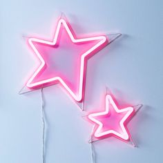 Pink Neon Star Light Duo in 2019 Collage Mural, Bedroom Wall Collage, Photo Wall Collage, Picture Wall, Wall Art, Collages, Aesthetic Rooms, Pink Aesthetic, Pink Neon Sign