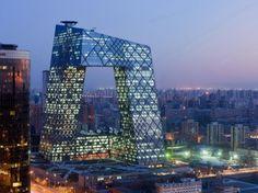 CCTV Headquarters  Beijing, China  Designed by OMA  Photo © Iwan Baan
