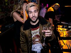 Star Tracks: Friday, January 1, 2015   BUBBLING OVER   Cheers! Pete Wentz raises a glass to 2016 on Thursday night before his set at Vanity Nightclub at the Hard Rock Hotel & Casino in Las Vegas.