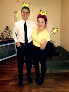 Cosmo & Wanda #costume #couplescostume #halloween                                                                                                                                                     More