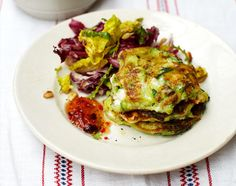 Courgette & feta fritters -Jamie Oliver recipe - had these for dinner tonight - yummy!!!!!! :)