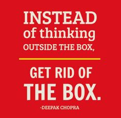The way you think, the way you behave, the way you eat,can influence your life by 30 to 50 years. ~ Deepak Chopra Your Challenge Today: Think,