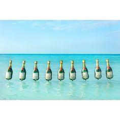 Gray Malin Champagne Balloons