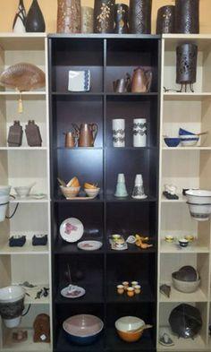 Um pedacinho do Show Room, do Atelier de Cerâmica Tauariê Objetário
