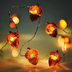 LED Guirlandes lumineuses  piles Vikeepro Cha ne de lumi¨re perles