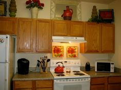 Poppy Kitchen Kitchen Ideas Pinterest Poppies Clock And Design