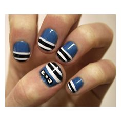 Cute Nail Art Ideas For Spring Photo 3 ❤ liked on Polyvore