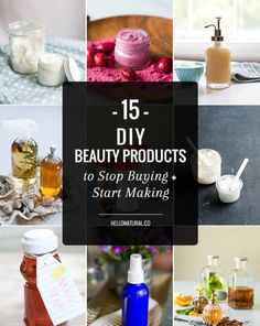 15 DIY Beauty Products to Stop Buying + Start Making