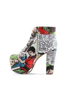 Harley Quinn Leggings, 'Tetris' Swimwear, and Comic Footwear From Black Milk Clothing