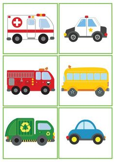 Free clipart vehicle images for kids, boys, girls, fire truck Toddler Learning Activities, Montessori Activities, Kids Learning, Activities For Kids, Transportation Activities, Transportation Birthday, Community Helpers, Early Childhood Education, Kids Education