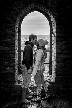 Pre Wedding Shoot With Andi And Tom At Burrow Mump Somerset Levels Flooding
